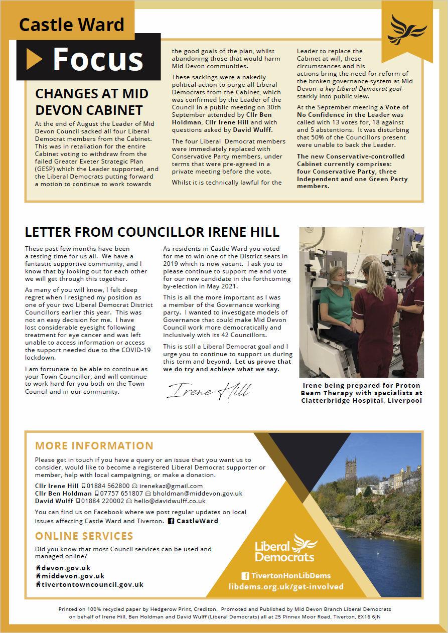 Castle Ward Focus, Autumn 2020, Page 2