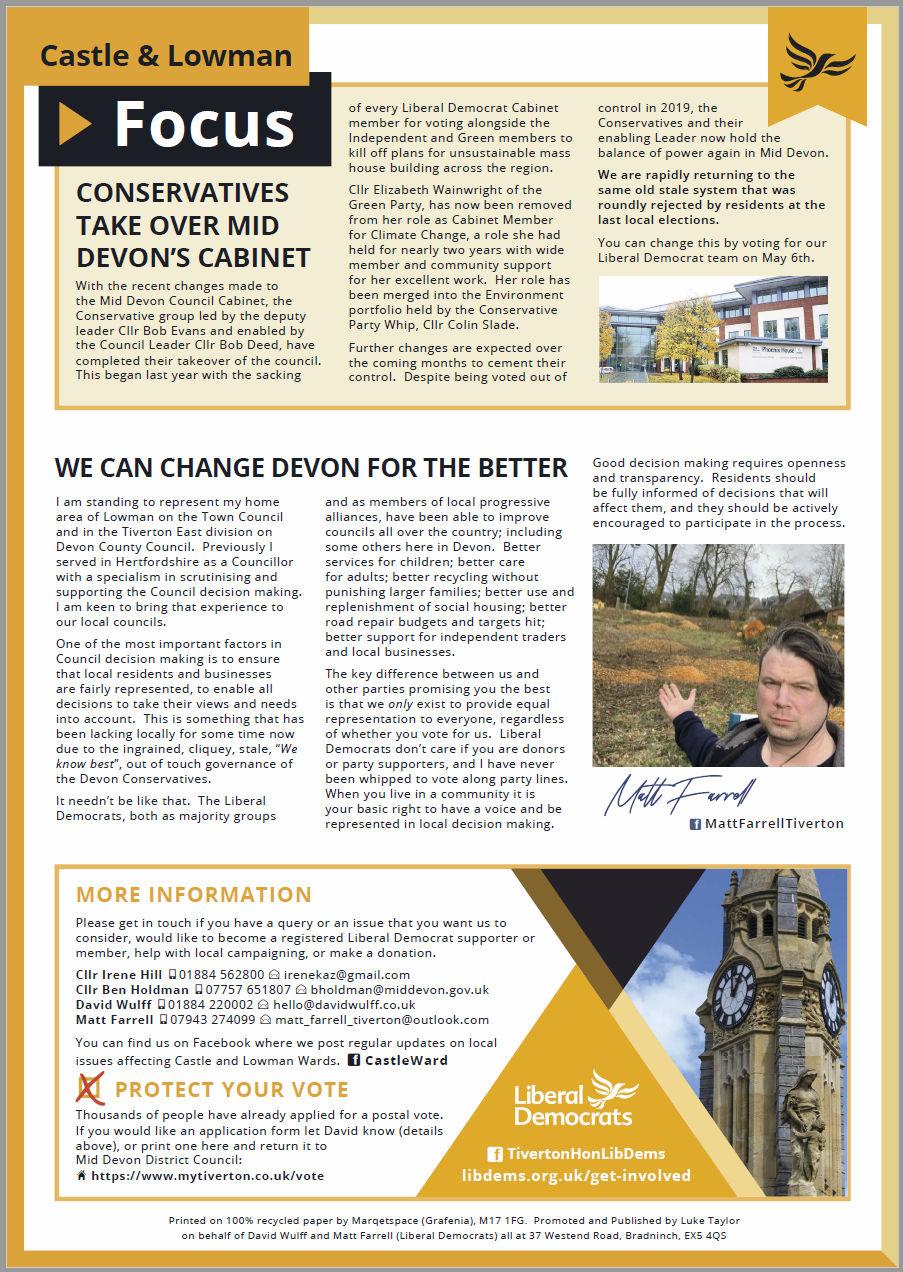 Castle & Lowman Focus, April 2021, Page 2